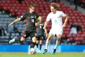Alex Kral has faced rivals like Modric. AFP