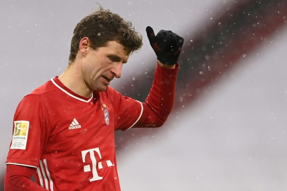 Müller opinó sobre la salida de Messi del Barcelona. AFP