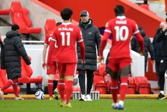 Liverpool prévoit un grand ménage cet été. AFP