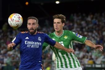 Miranda é baixa para o jogo com o Espanyol.AFP