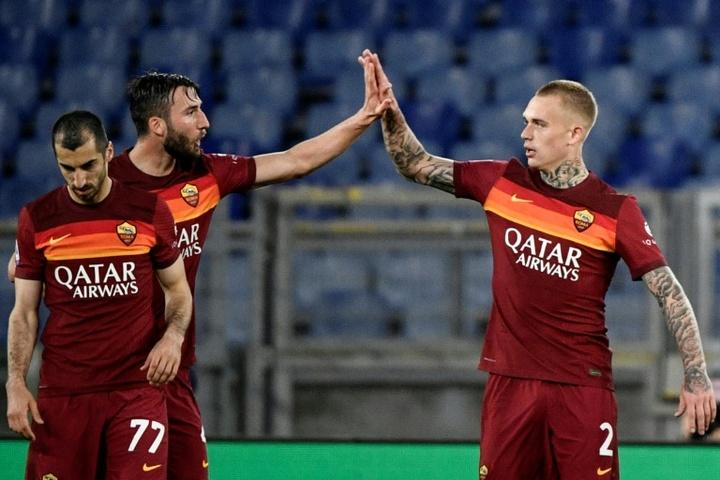 Cristante analizó la eliminación de la Roma. AFP