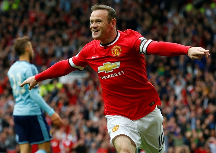 Rooney não gostava de sua posição no Manchester United. AFP
