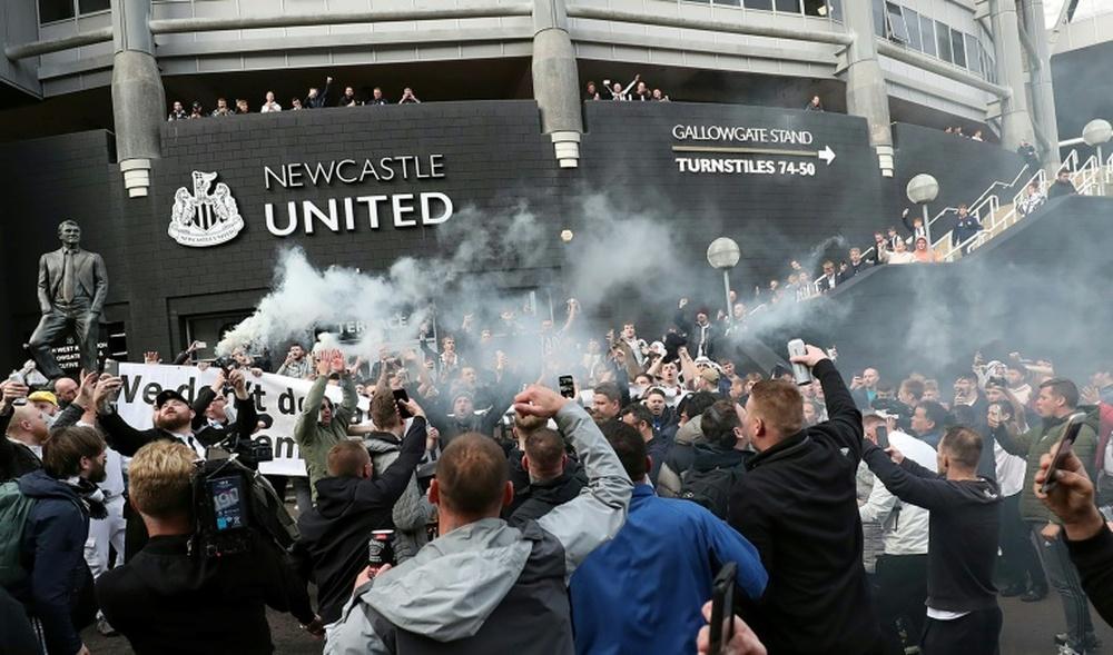 El Newcastle seguirá el estilo del Leipzig. AFP