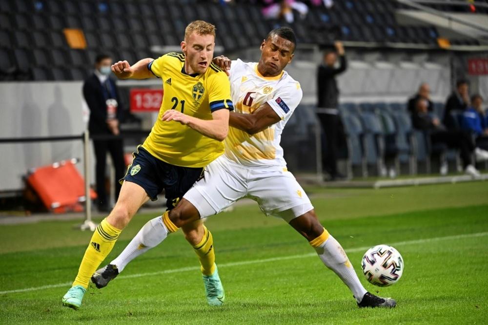 Il Tottenham punta Kulusevski. AFP