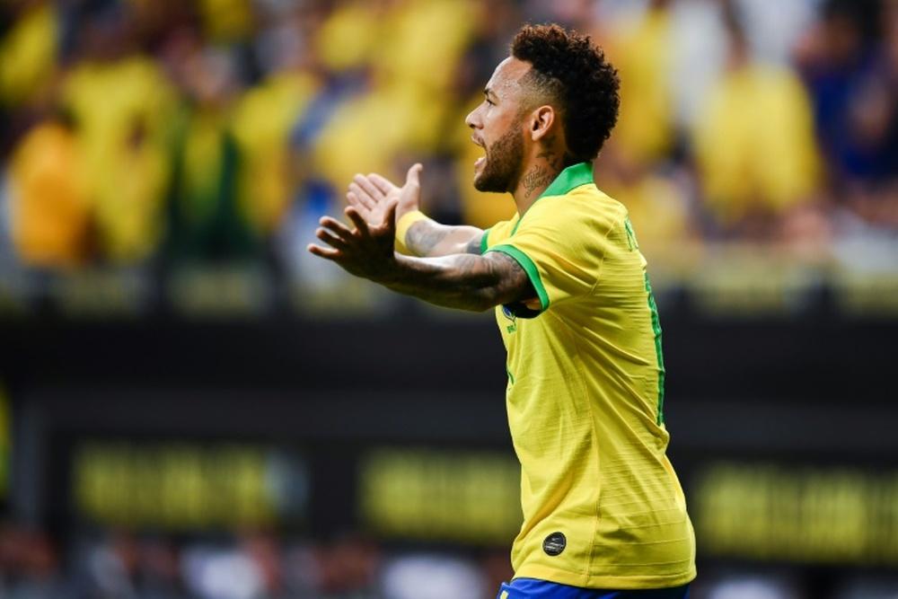 Neymar a fait une révélation surprenante. AFP