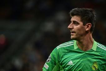Thibaut Courtois : La FIFA et l'UEFA ne se soucient que de leurs poches. afp