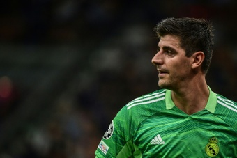 La Bélgica de Courtois cayó derrotada frente a Italia. AFP