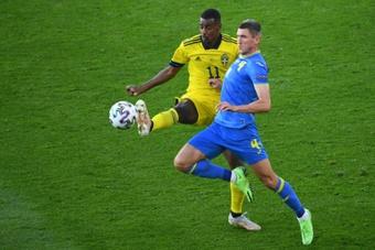 Dovbyk regala una storica qualificazione a Shevchenko. AFP
