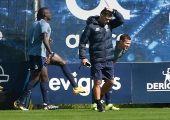 Conceição, sancionado con 21 días por sus insultos al árbitro. AFP