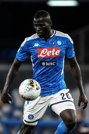 Le défenseur sénégalais de Naples, Kalidou Koulibaly. EFE