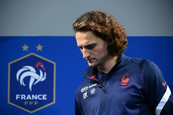 Rabiot cleared up the spat involving his mother and Mbappe and Pogba's families. AFP