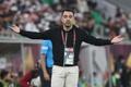 Xavi didn't want to discuss Barça rumors. AFP