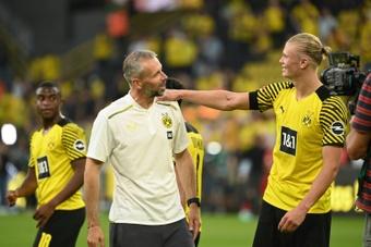 El Borussia Dortmund sigue de cerca a la promesa rusa Arsen Zakharyan. AFP