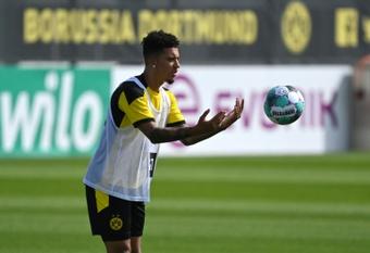 Dortmund aurait trouvé le remplaçant de Sancho. afp