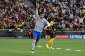 Cristiano Ronaldo ya ha marcado tres tantos en su regreso a Mánchester. AFP