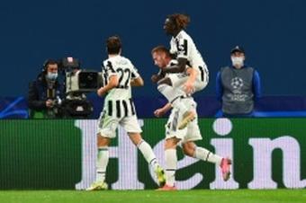 Le migliori reti segnate dalla Juventus. AFP