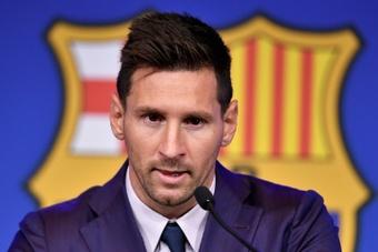 José Elías cree que la decisión de dejar salir a Messi fue adecuada. AFP