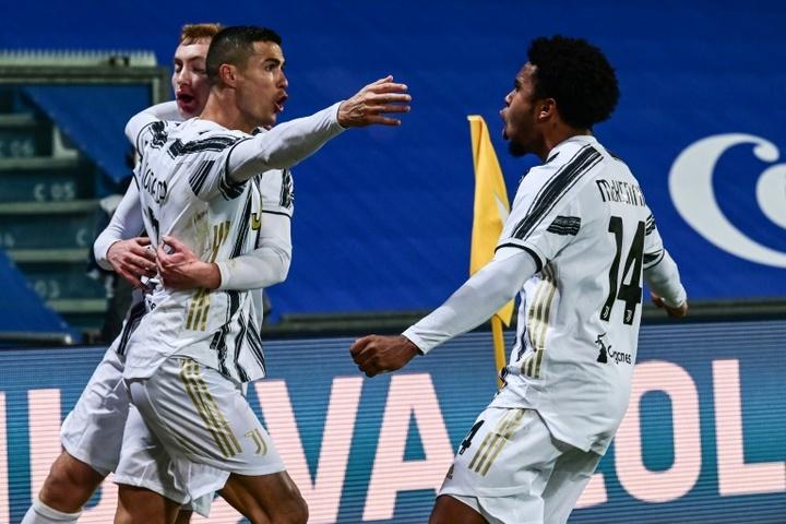 Ronaldo a besoin de marquer pour être plus heureux. afp