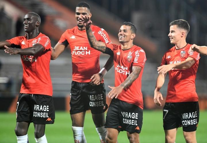 Nueva derrota del Lille en un horrible inicio de Ligue 1. AFP