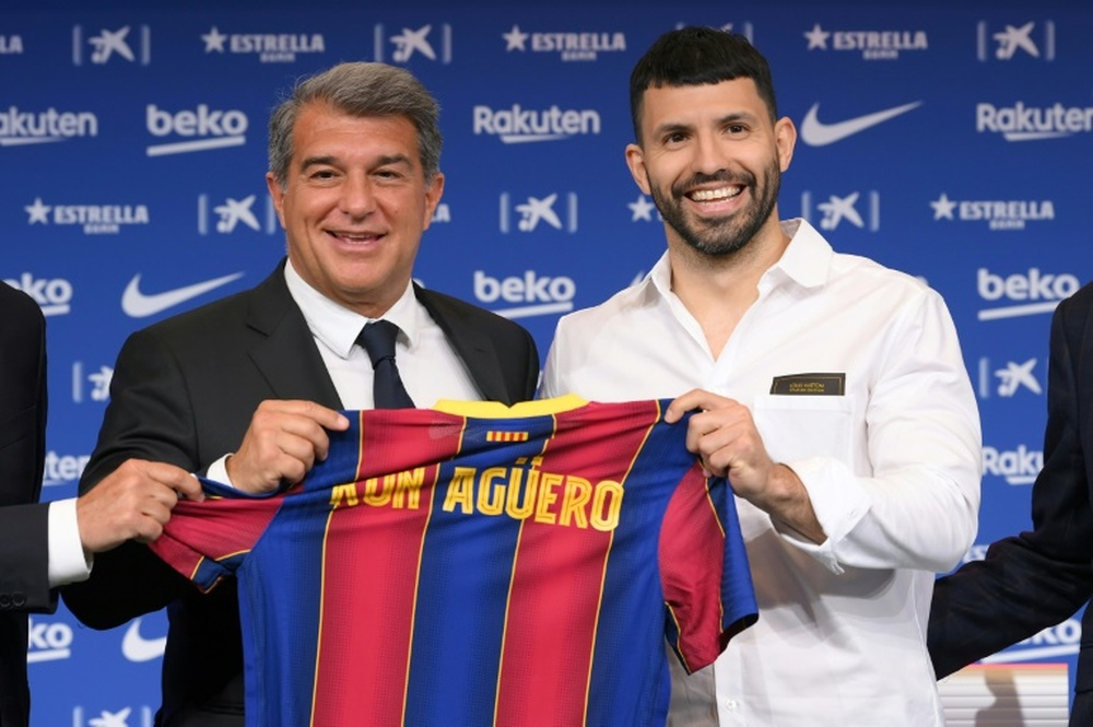 Aguero could have ended up at Juventus. AFP
