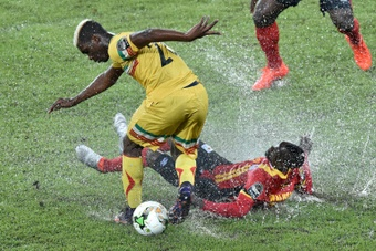 Liverpool and Arsenal target Bissouma. AFP