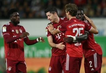Compos probables : Benfica-Bayern de Munich. AFP