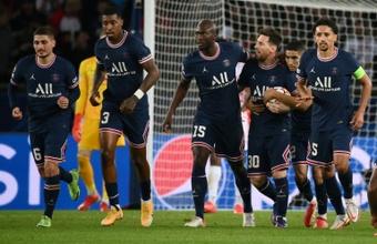 El PSG jugó fatal, pero ganó 3-2. AFP