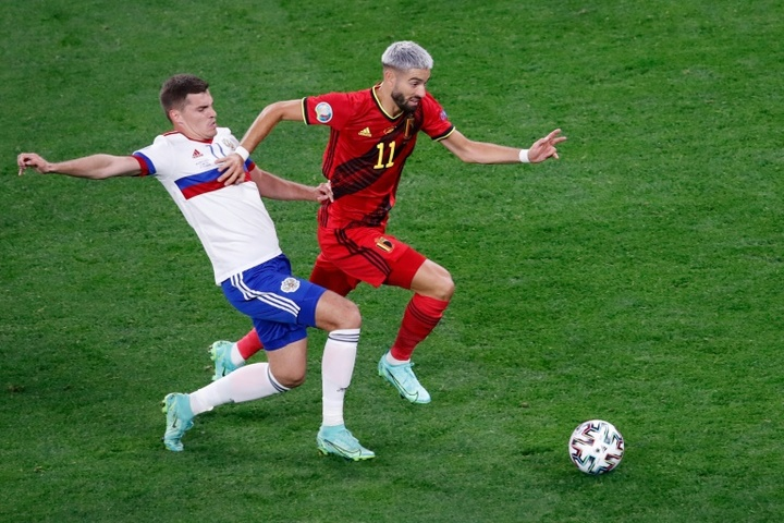 Bélgica liberó a Yannick Carrasco. AFP