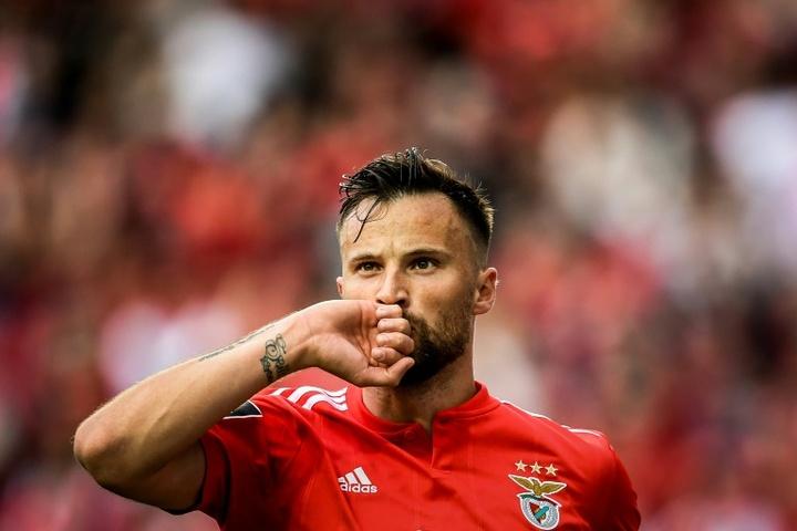 Benfica venceu o Sporting por 4 a 3. AFP