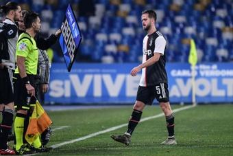 La venta de Pjanic al Barça, bajo investigación. AFP/Archivo