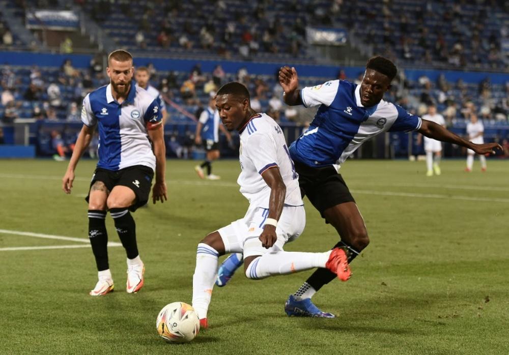 Boateng défend Alaba, critiqué par le président du Bayern. afp