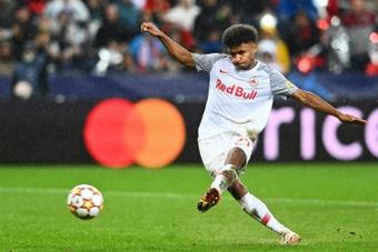 Adeyemi está en la agenda del Borussia. AFP
