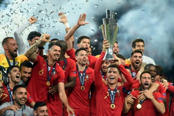 Le vainqueur de la Ligue des Nations gagnera 10,5 millions d'euros. afp