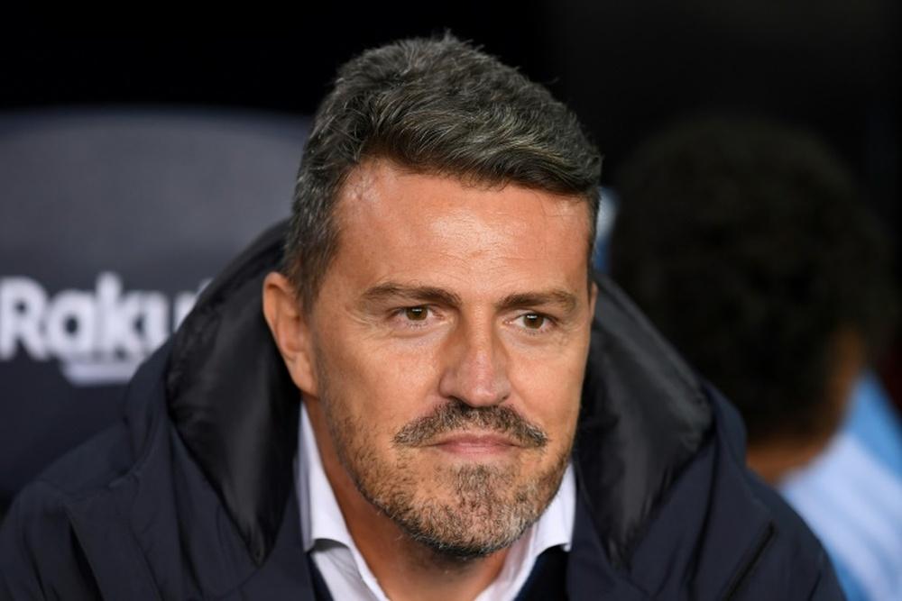 Óscar García, opción para el banquillo del Barcelona. AFP