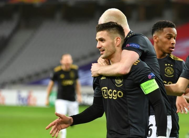 Officiel : l'Ajax prolonge le contrat de Dusan Tadic. AFP