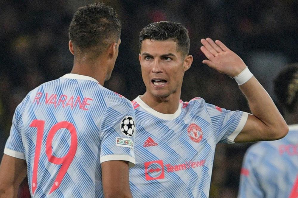 Varane elogió a Cristiano. AFP