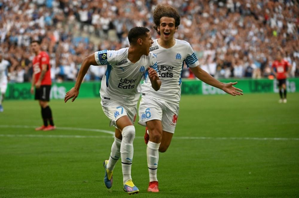 L'OM, Arsenal, les Bleus : les confidences de Guendouzi. afp