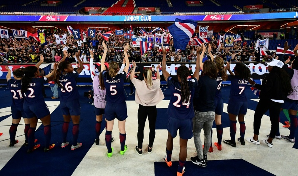 La Ligue des Champions féminine sera diffusée sur Dazn et Youtube la saison prochaine. AFP