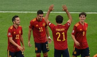 L'Espagne met fin à l'invincibilité de l'Italie et file en finale. AFP