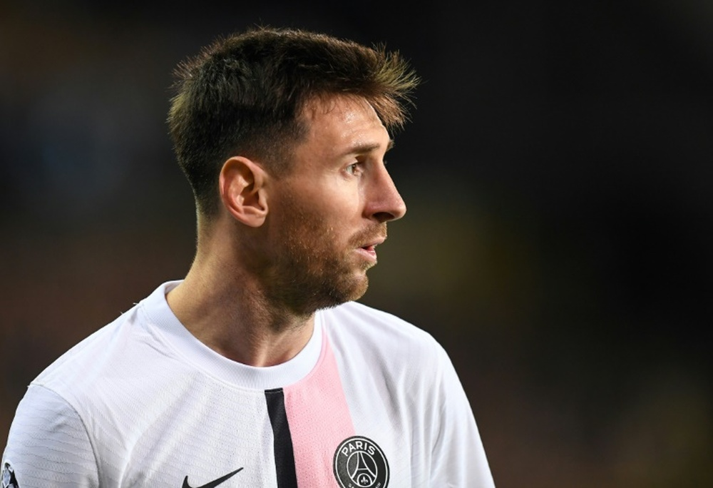 L'Equipe reported that Messi's salary was around 110 million over three years. AFP