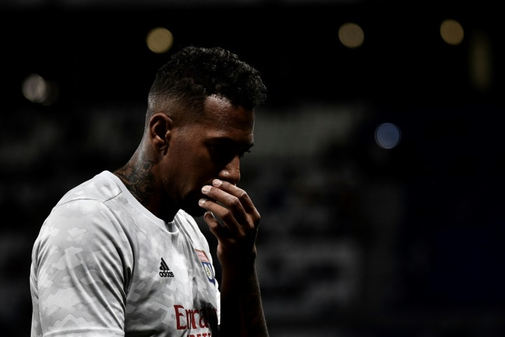 Boateng pointe du doigt l'arbitrage après le derby. AFP
