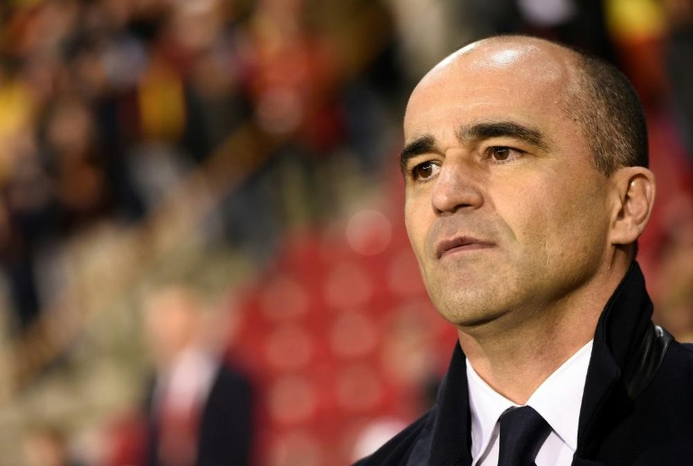 Roberto Martínez desmintió contactos con el Barcelona. AFP