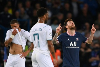 El PSG venció con gol de Messi. AFP
