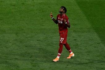 El Liverpool espera ofertas por Origi. AFP