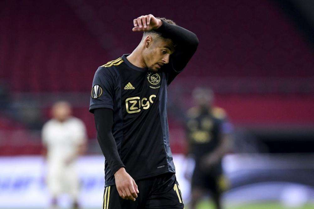 Rensch, una perla del Ajax. AFP