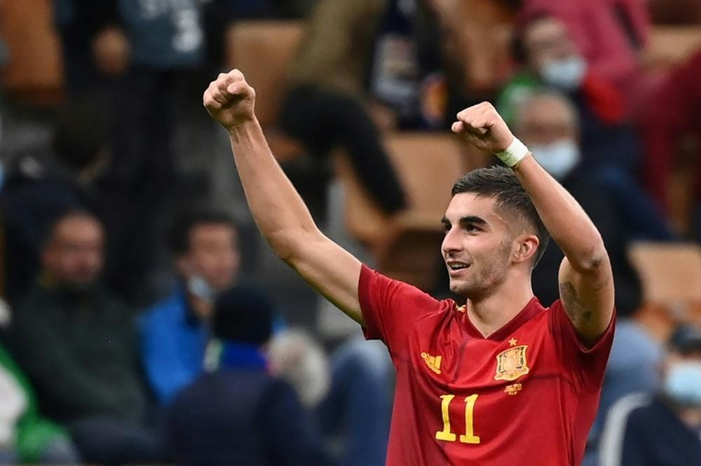 David Villa tarit d'éloge Ferran Torres. AFP