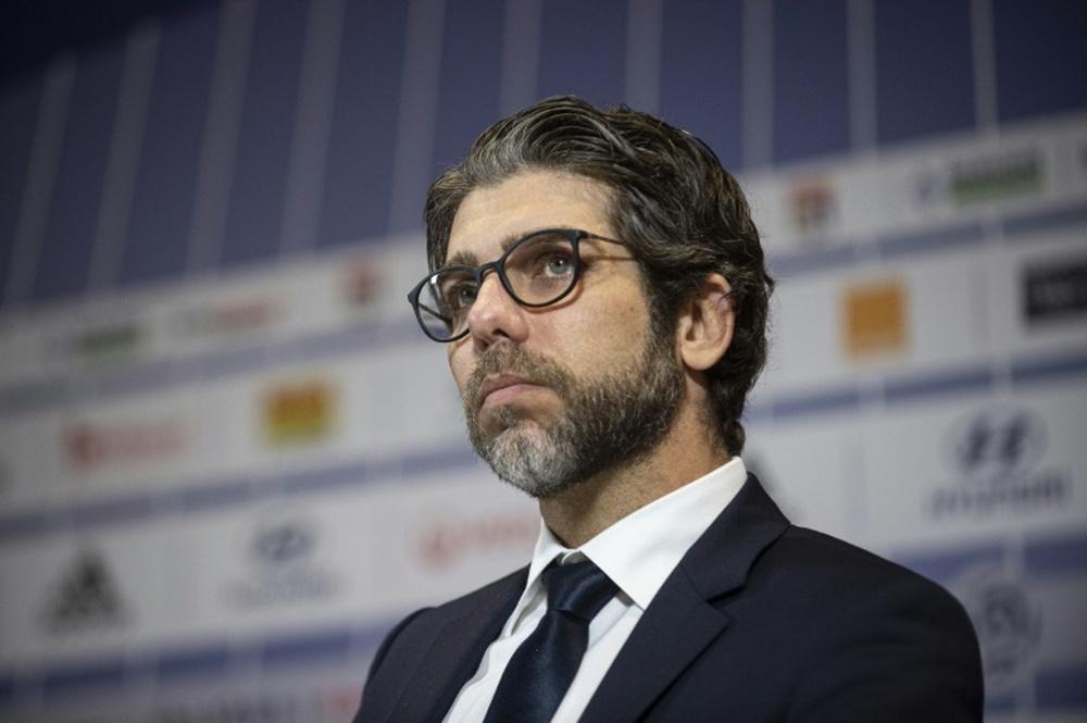 Juninho fue sancionado con tres partidos. AFP