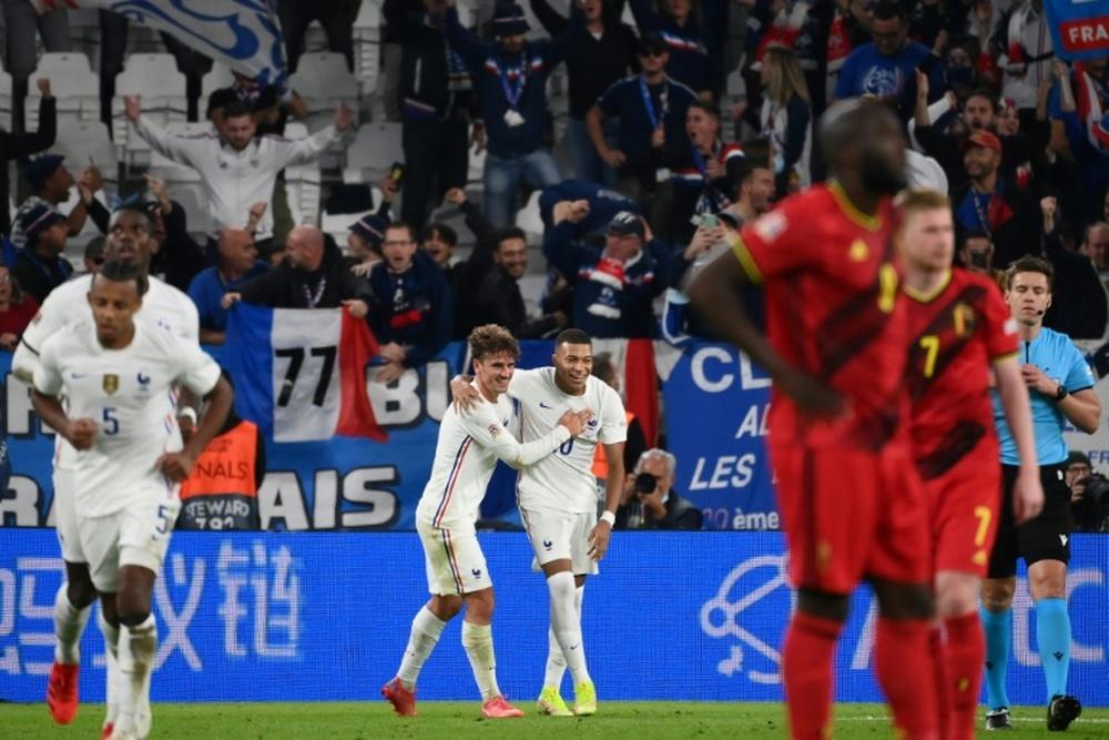 Antoine Griezmann a analysé la victoire de la France. AFP