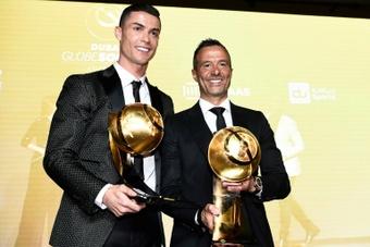 Jorge Mendes veut voir Ronaldo remporter le Ballon d'Or 2021. afp