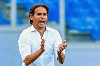 Inzaghi presenta il Derby d'Italia. AFP